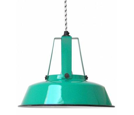 HK-living Hanglamp Workshop M jade groen 29,5x29,5x24cm