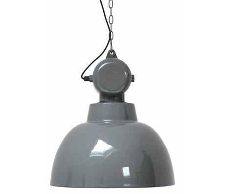 HK-living Industrielamp factory L grijs Ø 50 cm