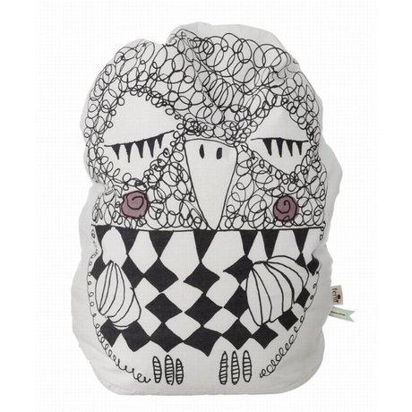 Ferm Living Zitkussen / zitzak Kids Olivia Bean bag wit 60cm