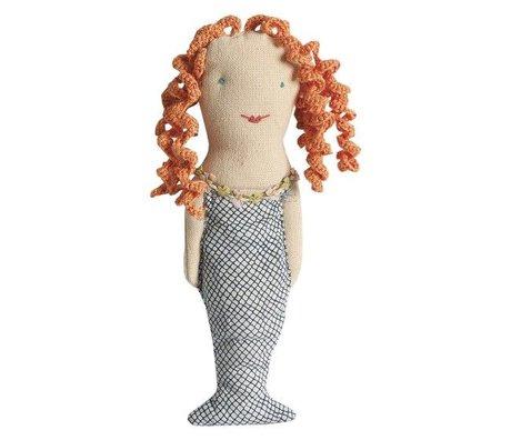 Maileg Rammelaar Zeemeermin h17cm, Mermaid rattle