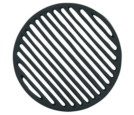 Housedoctor Onderzetter Coaster Liv zwart ø16x1,8cm