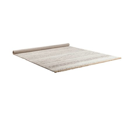 Zuiver Vloerkleed Polar wit 160x235cm