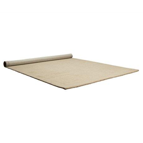 Zuiver Vloerkleed Barletta beige wol 200x300cm