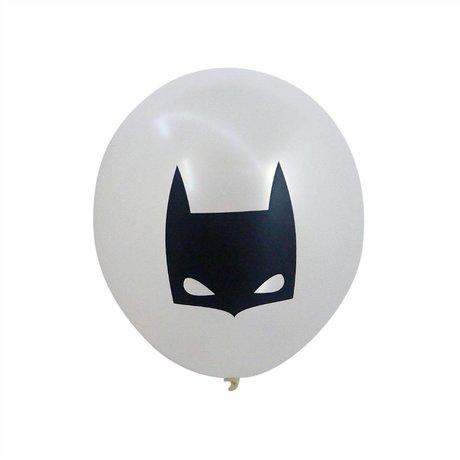 A Little Lovely Company Ballon Batman wit 30cm