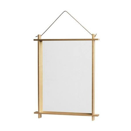 OYOY Spiegel Square naturel 36x3,5x46cm