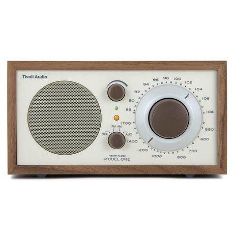 Tivoli Tafelradio One Walnut beige 21,3x13,3xh11,4cm