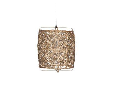 Ay Illuminate Hanglamp Bird's Nest naturel bamboe medium ø60x77cm