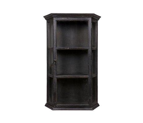 BePureHome Hangende kast Tidy zwart berkenhout 120x77x33cm
