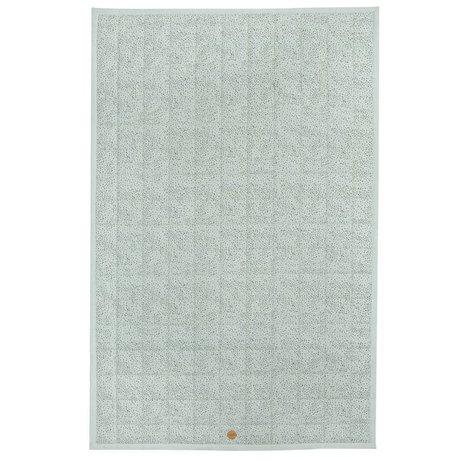 Ferm Living Bed sprei Mini dot mintgroen katoen 175x110cm
