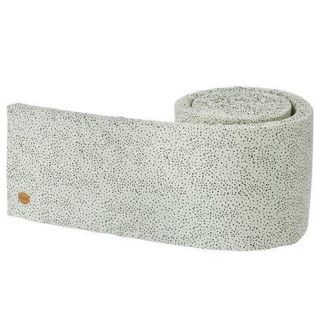 Ferm Living Bed bumper Mini dot mintgroen 340x30x3,5cm
