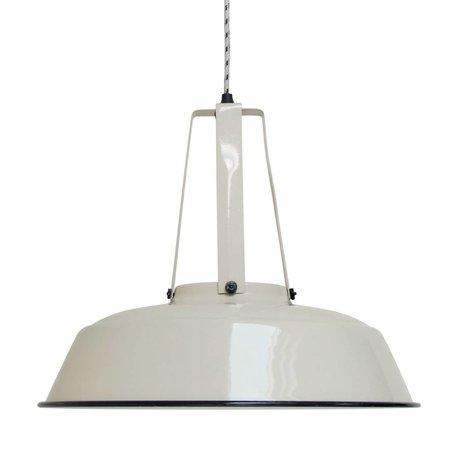 HK-living Hanglamp workshop zand LARGE, industriële lamp 45x45x40cm
