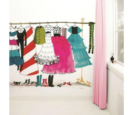 KEK Amsterdam Behang Dress up Party multicolour vliespapier 389,6x280cm