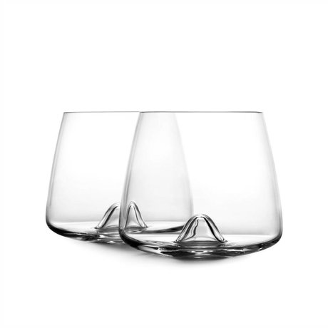 Normann Copenhagen Glas Whiskey glas set van 2 ø7,5x8,2cm