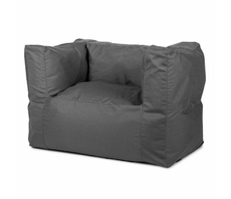BRYCK Loungestoel Chair GREYtime grijs textiel 75x75x100cm