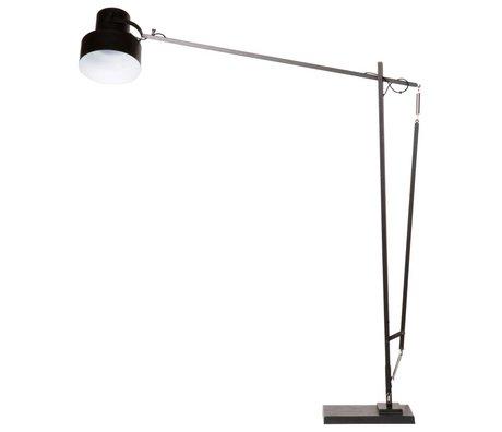 BePureHome Vloerlamp Beam zwart aluminium staal Ø28x150x150cm