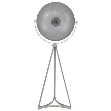 BePureHome Vloerlamp Blown grijs metaal 145x59x42cm