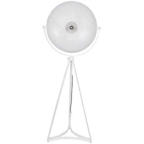 BePureHome Vloerlamp Blown wit metaal 145x59x42cm