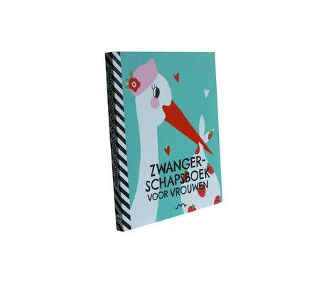 Uitgeverij Snor Boek zwangerschap voor vrouwen multicolour papier 1,3x18x15,1cm