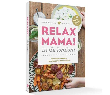 Uitgeverij Snor Boek Relax mama in de keuken multicolour papier 1,5x24,2x17cm