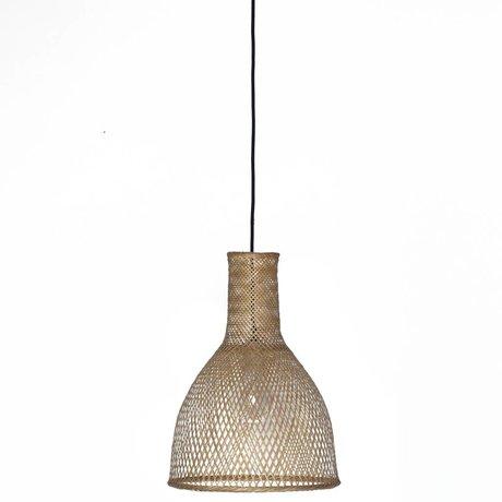 Ay Illuminate Hanglamp Bamboo M3 naturel bruin bamboe ø35x47cm