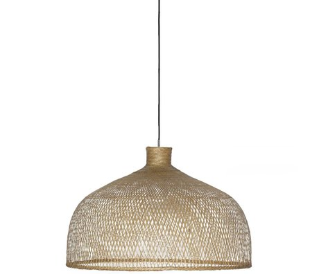 Ay Illuminate Hanglamp Bamboo M1 bruin bamboe ø75x47cm