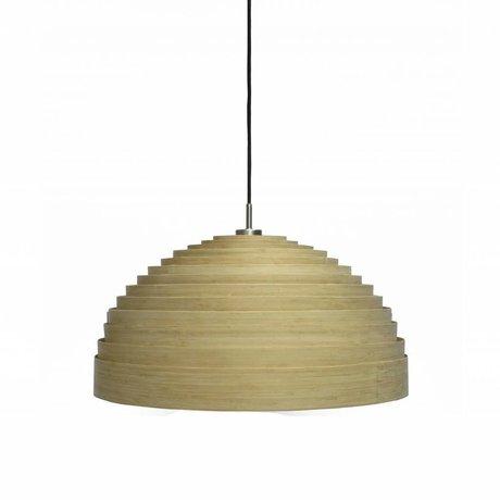 Ay Illuminate Hanglamp Lump Small naturel bruin bamboe ø50x25cm