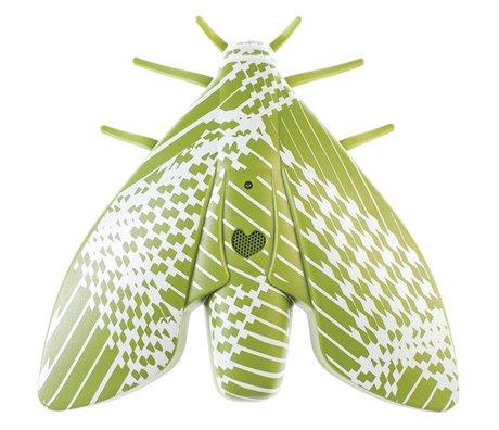 Jalo Rookmelder Lento groen kunststof 18x18x5cm
