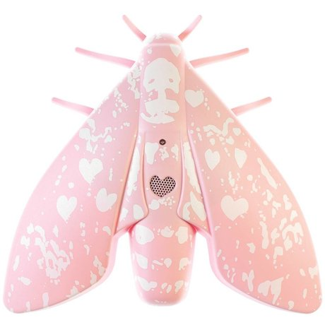 Jalo Rookmelder Lento roze kunststof 18x18x5cm