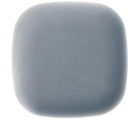 Jalo Rookmelder Kupu fabric grijs kunststof 11x11x3,9cm