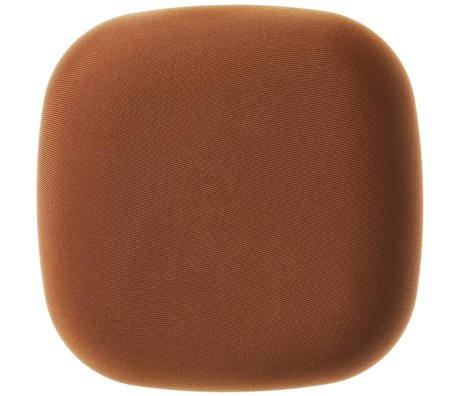 Jalo Rookmelder Kupu fabric bruin kunststof 11x11x3,9cm