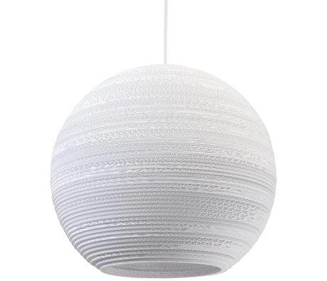 Graypants Hanglamp Moon 18 Pendant wit karton Ø45x40cm