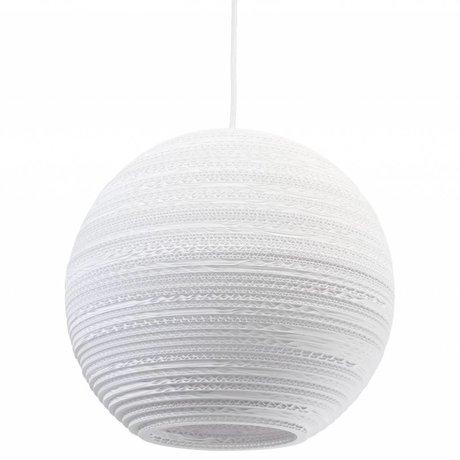 Graypants Hanglamp Moon 14 Pendant wit karton Ø36x31cm