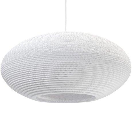 Graypants Hanglamp Disc 24 Pendant wit karton Ø61x26cm
