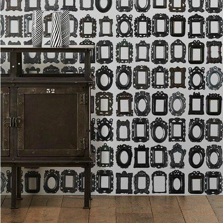 NLXL-Daniel Rozensztroch Behang Frames zwart wit 1000x48,7cm