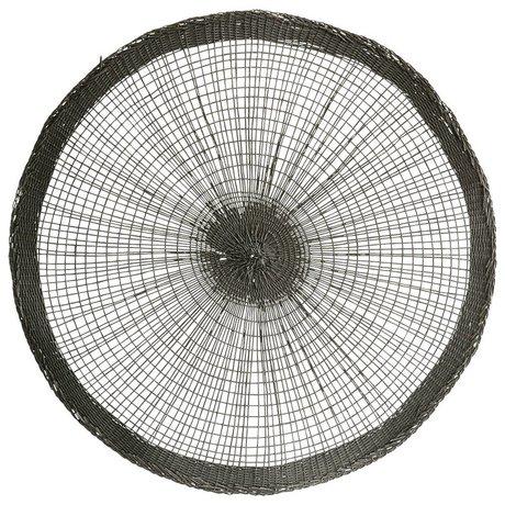 Housedoctor Placemat grijs papier Ø38cm