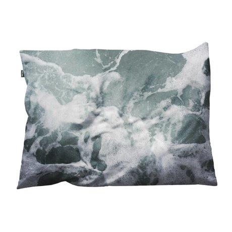 Snurk Beddengoed Sierkussen hoes Macro Ocean 35x50cm