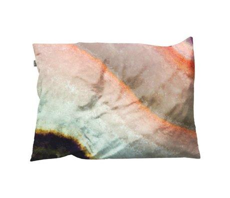 Snurk Beddengoed Sierkussen hoes Macro Mineral roze 35x50cm