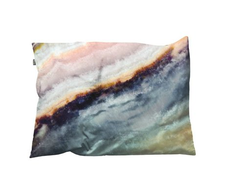 Snurk Beddengoed Sierkussen hoes Macro Mineral blauw 35x50cm