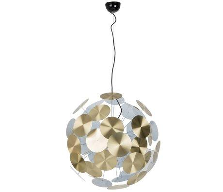 Zuiver Hanglamp Plentywork metaal goud Ø65x185cm