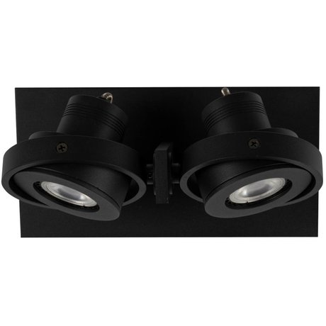 Zuiver Wandlamp LUCI-2 LED aluminium zwart 23x11,5x12,8cm