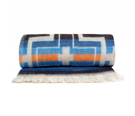 Storebror Deken native throw multi color polyester 200x140cm