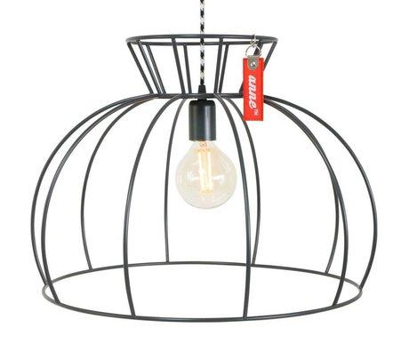 Anne Lighting Hanglamp Anne Crinoline grijs metaal ø53x38cm