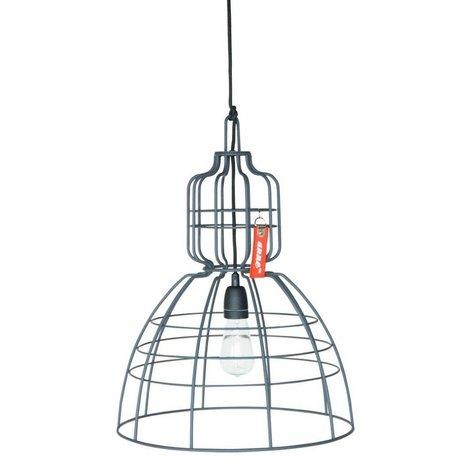 Anne Lighting Hanglamp Anne Markll grijs metaal ø43x56cm