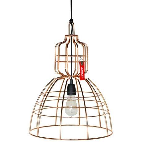 Anne Lighting Hanglamp Anne Markll koper metaal ø43x56cm