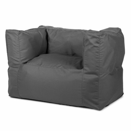 BRYCK Loungestoel 'Chair GREYtime' grijs textiel 75x75x100cm