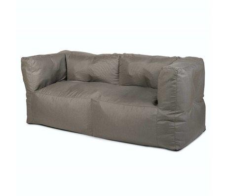 BRYCK Loungebank 'Couch GREYlight' lchtgrijs textiel 75x75x175cm