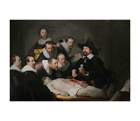 Arty Shock Schilderij Anatomische Les Rembrandt M multicolor plexiglas 80x120cm