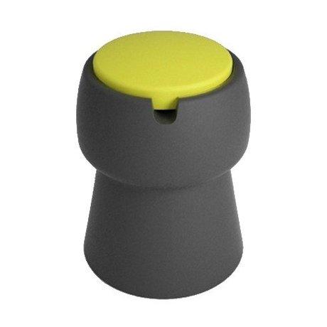 JokJor Kruk Champ zwart geel kunststof Ø35x45cm
