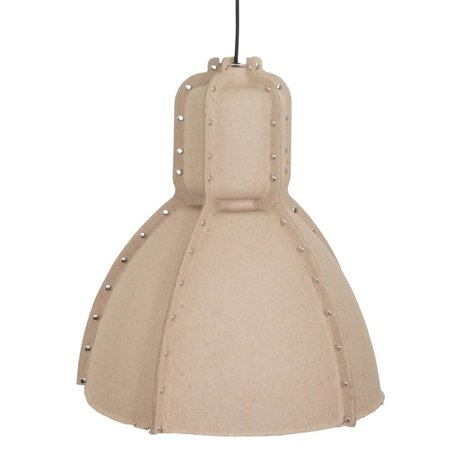 Anne Lighting Hanglamp Pulp fiction beige bruin karton ø42x49cm