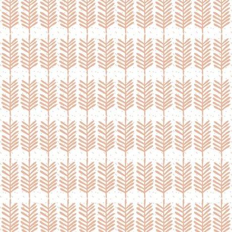 Roomblush Behang Feathers roze papier 1140x50cm